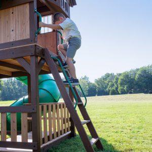 Skyfort-With-Tube-Slide-Ladder