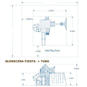 Skyfort-With-Tube-Slide-Diagram