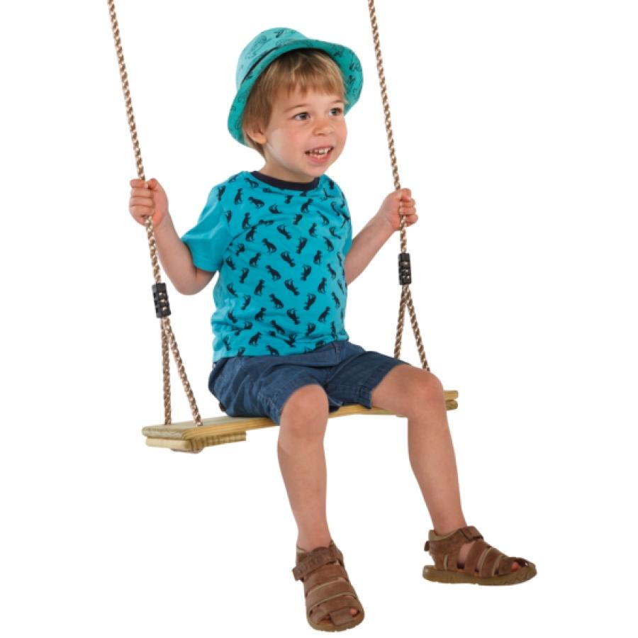 Treated pinewood swing seat