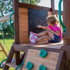 Cedar-Cove-Swing-Set-Chalk-Board