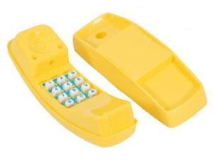 22 telefonas yellow