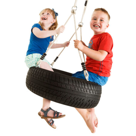 Tyre swing horizontal